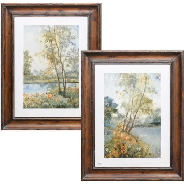 Set de 2 Quadros Ethereal Waters