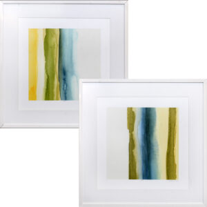 Set de 2 Quadros Abstratos A