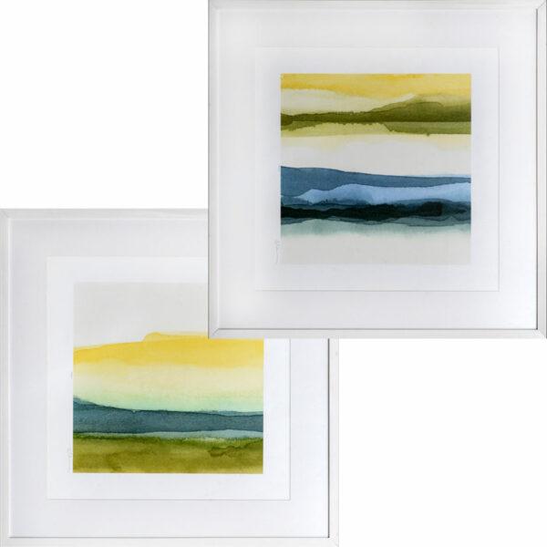 Set de 2 Quadros Abstratos B