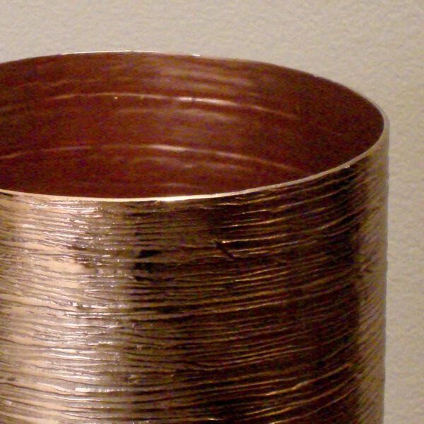 Vaso de Cobre Cilíndrico